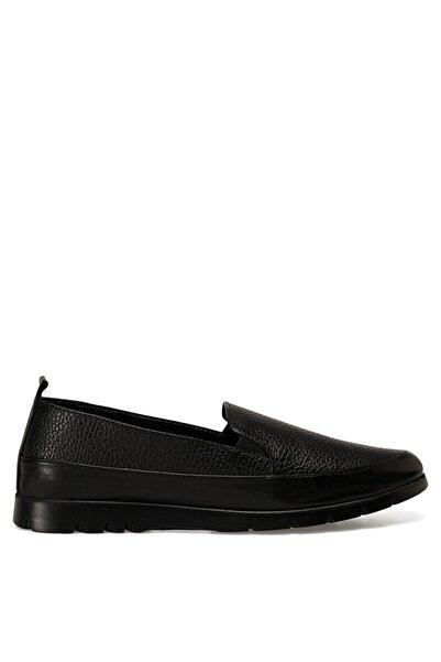 Nine West Bası2 Siyah Kadın Loafer Ayakkabı