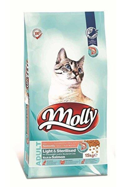 Molly Düşük Tahıllı Hipoalerjenik Somonlu Kısırlaştırılmış Kedi Maması 15 Kg
