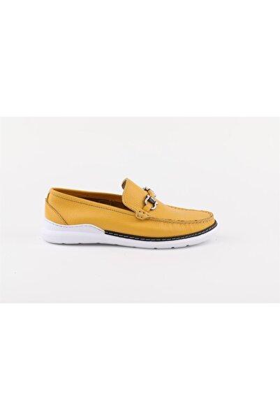 Buffalo Erkek Sarı Toka Detaylı Günlük Ayakkabı
