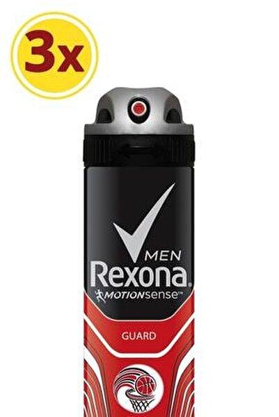 Erkek Deodorant Sprey Guard 150 ml X3