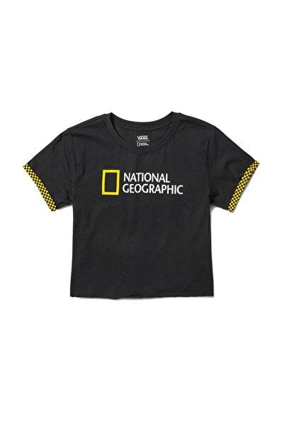 Vans Nat Geo Rollout Siyah Kadın T-shirt
