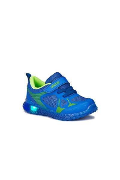 Vicco Figo Erkek Çocuk Saks Mavi Spor Ayakkabı