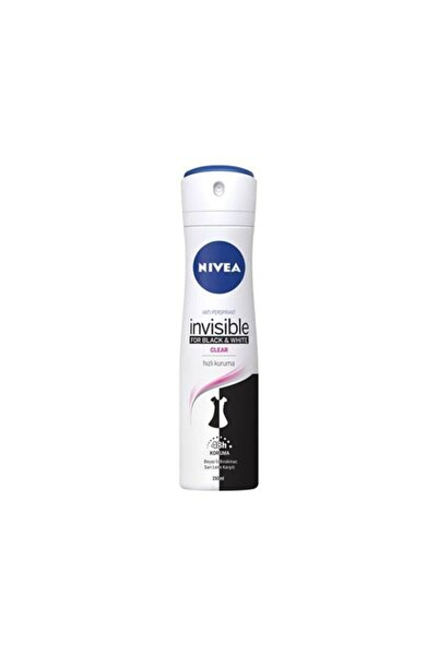 Nivea Invisible For Black White150 Ml Kadın Beyaz Siyah Deodorant
