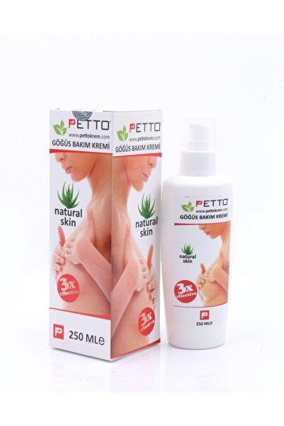 PETTOCREAM 250 ml Göğüs Büyütücü Ve Şekillendirici