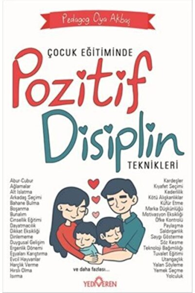 Yediveren Yayınları Çocuk Eğitiminde Pozitif Disiplin Teknikleri