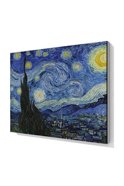 HOGHHEIM The Starry Night, Vincent Van Gogh 1889 Yıldızlı Geceler Kanvas Baskı Tablo
