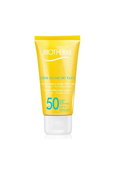 Biotherm Creme Solaire Dry Touch Spf50 50 ml Mat Yüz Kremi