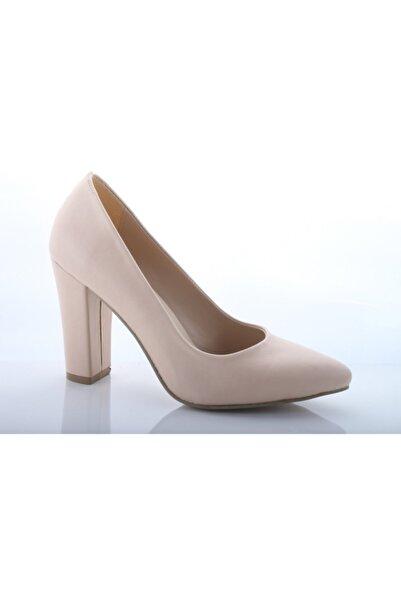 Almera Kadın Ten Süet Ayakkabı 800-14p