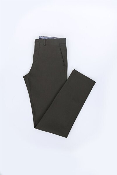 Jakamen Yeşil Ekstra Slim Fit Erkek Pantolon