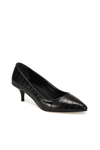 Butigo Dipper Siyah Kadın Topuklu Ayakkabı