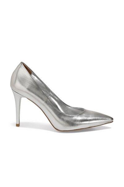 Butigo Efsa Gümüş Kadın Topuklu Ayakkabı