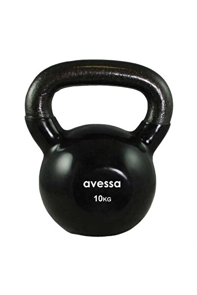 AVESSA 10 Kg Kettlebell Çaydanlık Dambıl