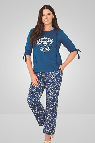 Berrak Bayan Battal Boy Pijama Takımı