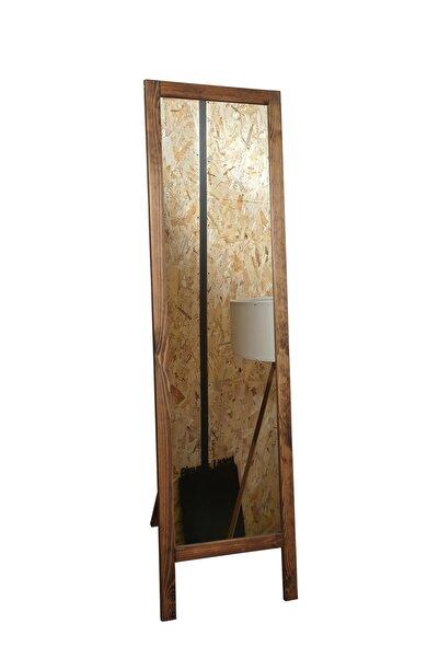 Dekolia Ayaklı Boy Aynası Masif Ahşap 38*145 Cm
