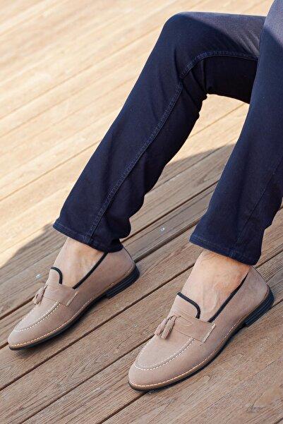 MUGGO Erkek Bej Ayakkabı