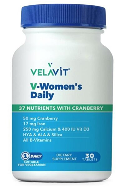 Velavit V-women's Daily 37 Nutrients With Cranberry 30 Tablet