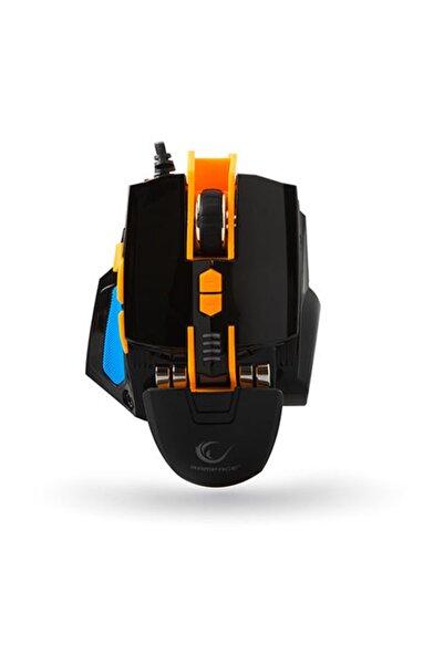 Everest Rampage Rampage Smx-r4 Usb Siyah 4000 Dpi Makrolu Oyuncu Mouse
