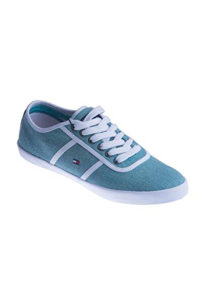 Tommy Hilfiger Yeşil Erkek Sneaker Fm56819314 Freddy 5d Agate Green