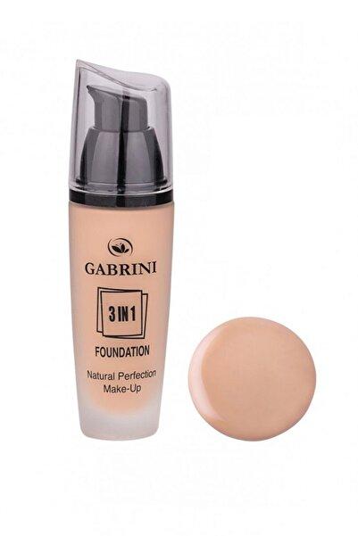 Gabrini 3 In 1 Foundation Natural Perfection Make Up No:05