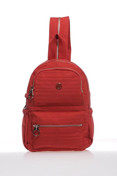 SMART BAGS Smb3021-0019 Kırmızı Kadın Sırt Çantası