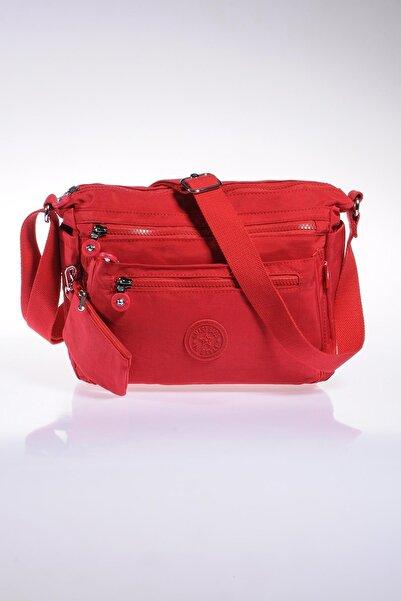 SMART BAGS Smb1238-0019 Kırmızı Kadın Çapraz Çanta