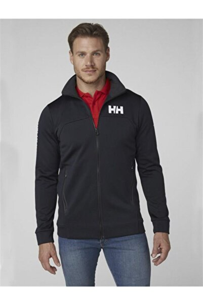 Helly Hansen Hp Fleece Erkek Arakatman Sweat Ceket Lacivert