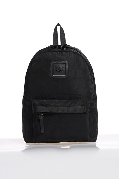SMART BAGS Smb6003-0001 Siyah Kadın Sırt Çantası