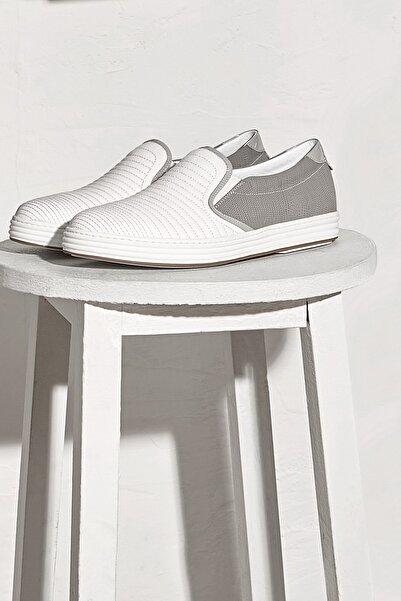 Efor 4128-1 Beyaz Spor Ayakkabı