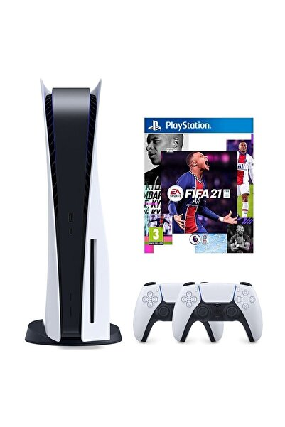Sony Playstation 5 825 GB + 2. PS5 DualSense + PS5 Fifa 21