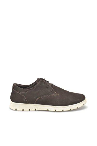 Kinetix Hakiki Deri Kahverengi Erkek Casual Ayakkabı