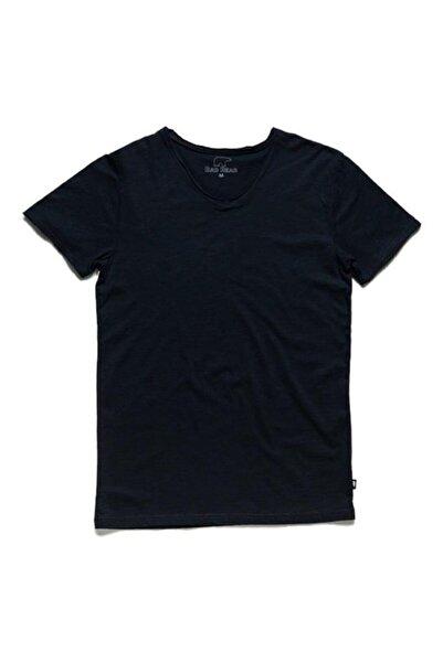 Bad Bear Erkek Siyah V-neck Tee Navy Tişört (18.01.07.012-c07)