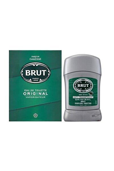 Brut Erkek Parfüm 100 ml Edt +  Koltuk Altı Stick 50 ml