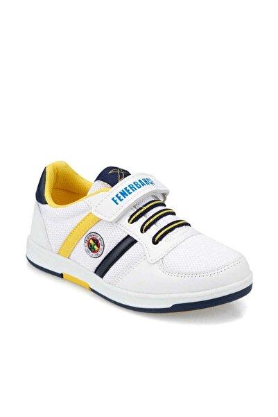 Fenerbahçe Erkek Çocuk Beyaz 1 Sneaker Spor Ayakkabı