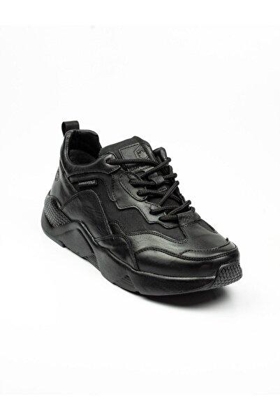 lumberjack 100536278 Santiago Siyah Erkek Sneaker Ayakkabı Siyah-42