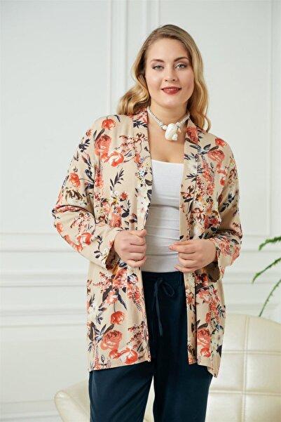 RMG Çiçek Desenli Ceket