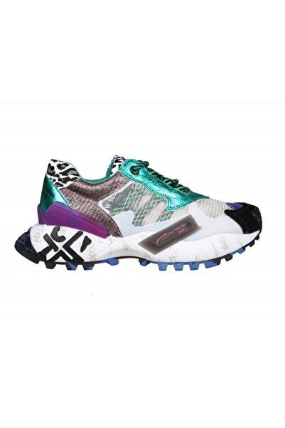 Guja 20y300-9 Dolgu Topuk Beyaz Kadın Sneakers