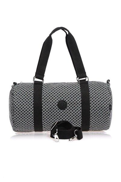 SMART BAGS Smb1245-0127 Siyah/beyaz Kadın Spor Çantası