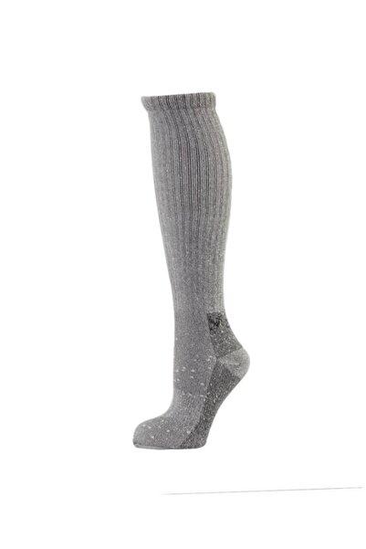 2AS T.uzun Termal Çorap Gri