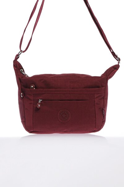 SMART BAGS Smb3001-0021 Bordo Kadın Çapraz Çanta