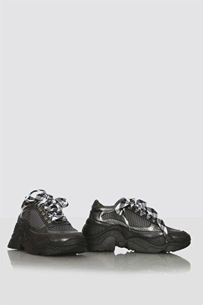 İLVİ Ego Bayan Ayakkabı Platin