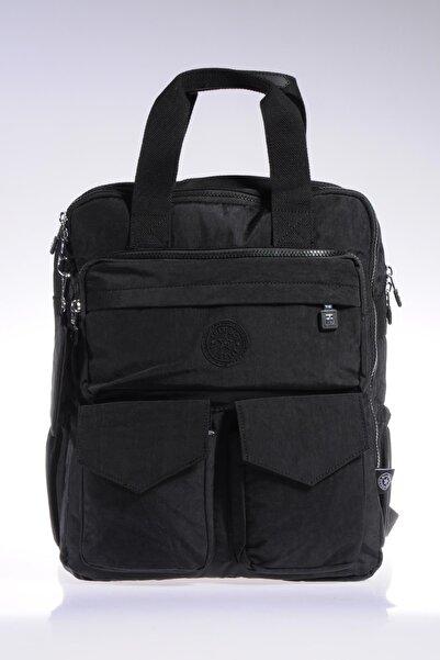 SMART BAGS Smb1175-0001 Siyah Kadın Sırt Çantası