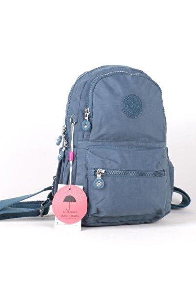 SMART BAGS Küçük Boy Kadın Sırt Çantası 1030 50 Buz Mavisi