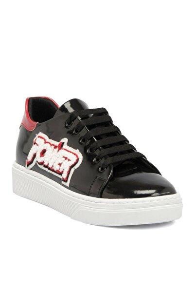 Tergan Siyah Tekstil Kadın Ayakkabı 64228d62
