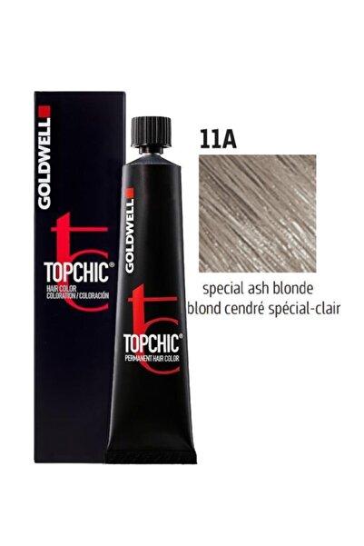 GOLDWELL Topchic Saç Boyası 11a Özel Küllü Sarı 60 ml