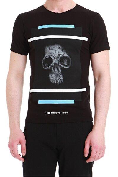 Efor Ts 750 Slim Fit Siyah Spor T-shirt