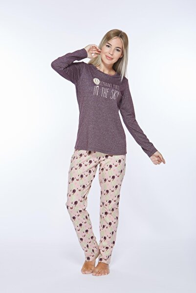PJS Kadın Pijama Takımı 21203