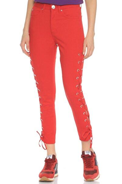 SANDRO Kırmızı Jean Pantolon