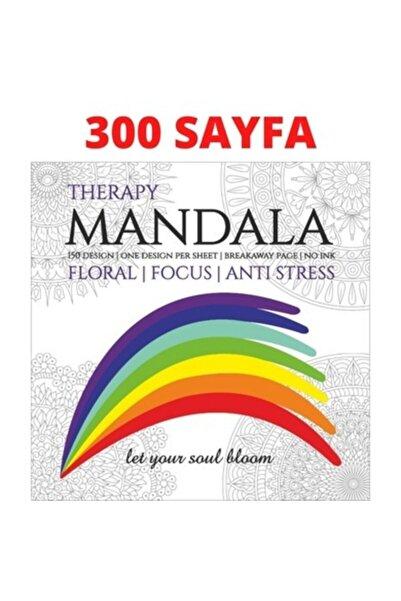 Therapy Mandala Boyama Kitabı 300 Sayfa