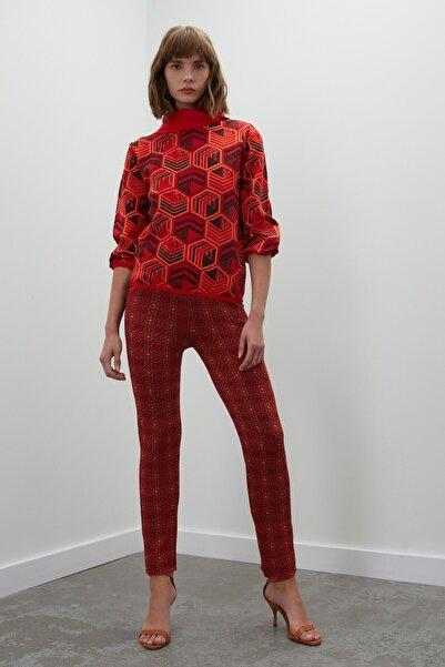 JOIN US Desenli Cepli Multi Triko Pantolon - Multi