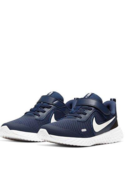 Nike Unisex Çocuk Lacivert Revolutıon 5 (Psv) Yürüyüş Koşu Ayakkabı Bq5672-402